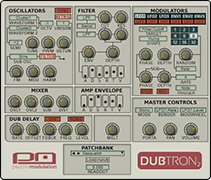 Dubtron Bass Synthesizer
