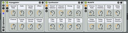 Lightwave is one of the Ableton Instruments in the Synth Waves collection.