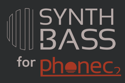 Synth Bass for Phonec, a collection of 128 high quality bass patches